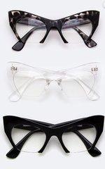 Rimless Style Cat Eyeware