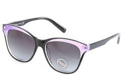 CatEye Purple/Black Sunglasses