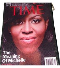 Michelle Obama Magazine Clutch
