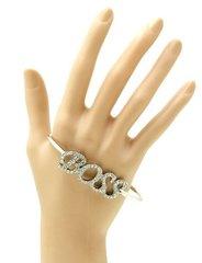 Cuff Boss Bracelet-Silver
