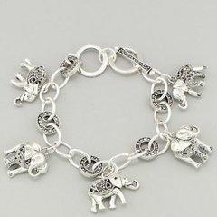 Elephant Link Bracelet