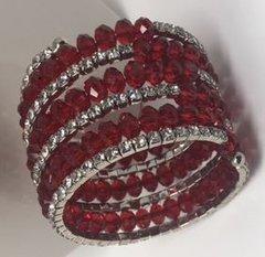 Rhinestone/Bead Bracelet