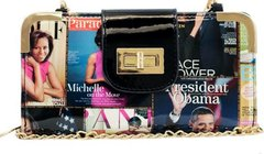 Crossbody Michelle Obama Wallet - Multi Color