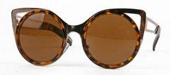 Cat Eye Gold Trim / Tortoise Sunglasses