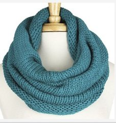 Infinity Scarf-Teal