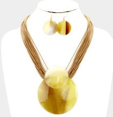 Shell Rope Necklace Set