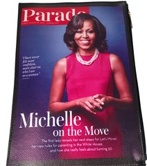 Michelle Obama Inspired Parade Clutch