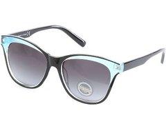 CatEye Black/Aqua Sunglasses
