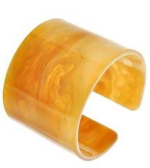 Natural Acrylic Cuff Bracelet