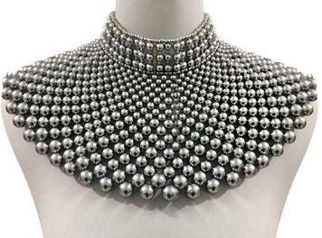 bib choker necklace