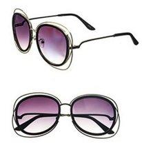 Fashion Double Sunglasses-Black