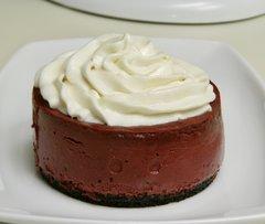 Red Velvet Mini Cheesecake (1 Dozen)