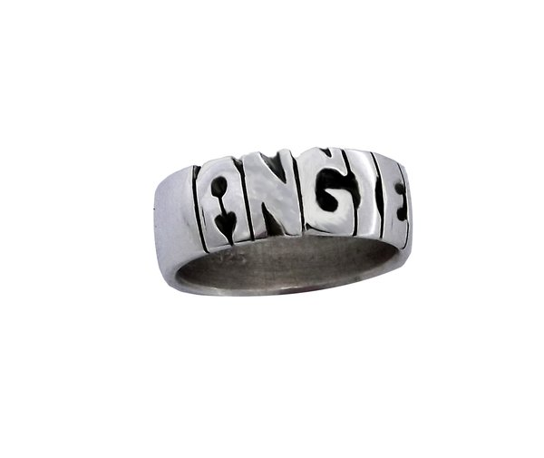 sterling personalized ring promise silver jewellery