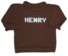 Custom Knit Name Pullover