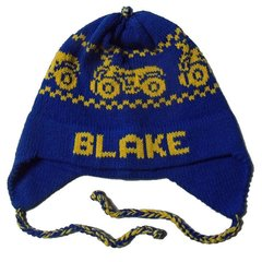 Personalized ATV Earflap Hat