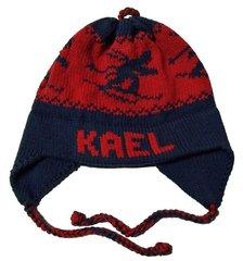 Personalized Skier Earflap Hat