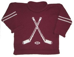 Custom Knit Personalized Hockey Sports Sweater