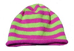 Striped Roll Cotton Hat