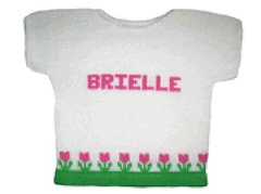 Personalized Tulip Tee Top