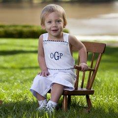 Adorable Bibbed Pique Shorts for Baby Boy