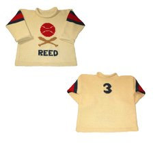 Personalized Baseball Jersey Sweater for Children