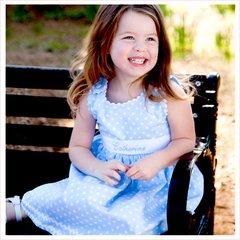 Custom Made Pique Sash Dresses for Your Little Girl