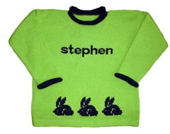 Personalized Easter Sweater for Children