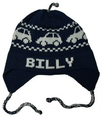 Personalized Car Earflap Hat