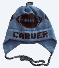 Personalized Football Earflap Hat