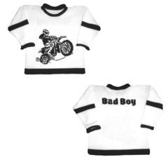Bad Boy Motorcycle Themed Sports Sweater