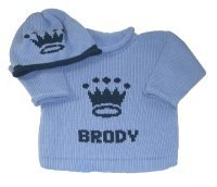 Our Little Prince Personalized Layette Set