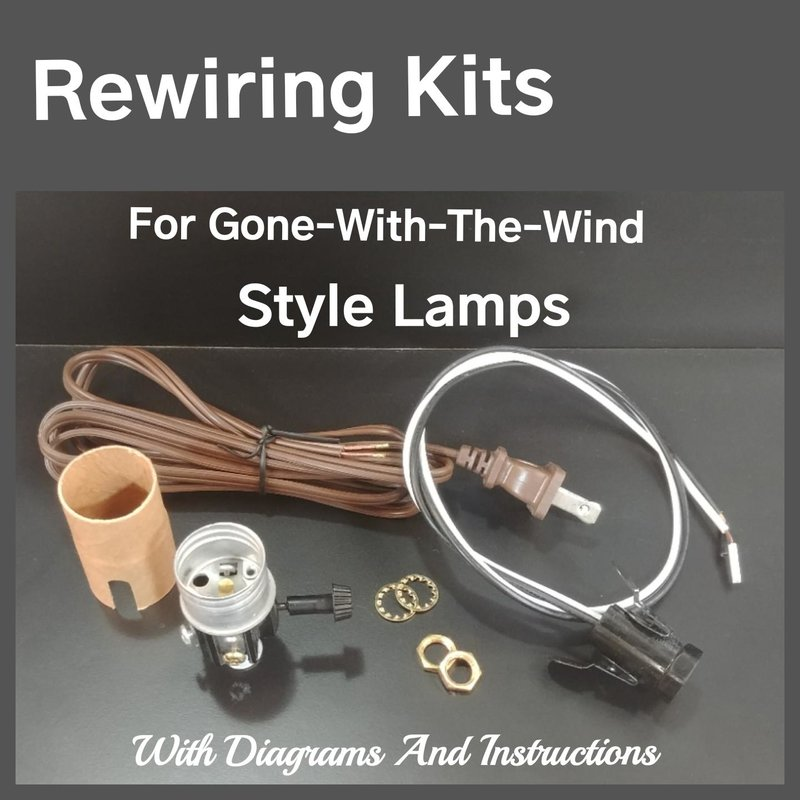 Lamp Rewiring Kits Lighting Supplies Candle Covers