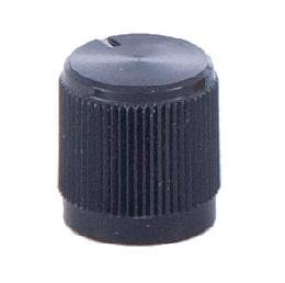 Replacement Plastic Dimmer Knob In Black Or Nickel