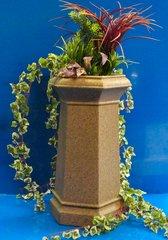 Chimney Pot Garden Planter Patio Flower Tub Sandstone Colour