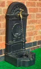 Garden Wall Brass Tap or Water Feature Self Contained Outdoor Ornament Fountain
