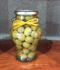 Manzanilla Orange Stuffed Olives (20oz)