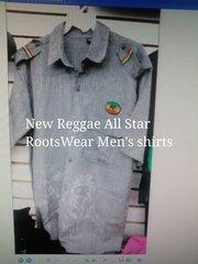 REGGAE ALL STAR RASTA SHIRTS