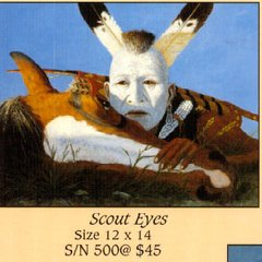 """Scout Eyes"" - 12x14 Limited Edition Print"