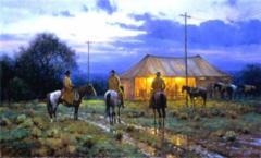"""Cowboy Revival"" - 20 x 30 Limited Edition Print"