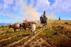 """Texas Legacy"" - 20 x 30 Limited Edition Print"