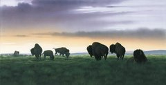 """The Gathering"" - 30x15 Limited Edition Print"
