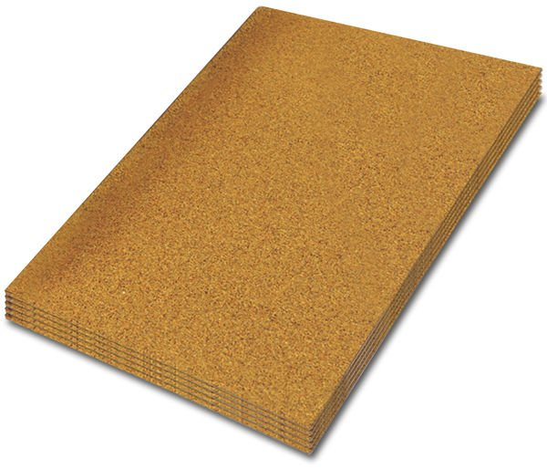 Adhesive Cork Sheet - 940 mm x 630 mm - Various Thicknesses - Pack of 2