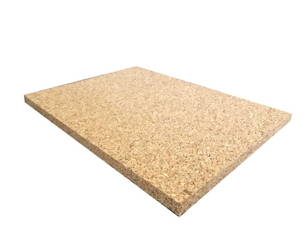 Non Adhesive Cork Sheet - 440mm x 300mm - Various Thicknesses - 4 Pack