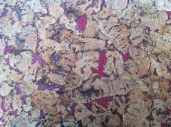 Red Pattern Cork Wall Tiles - 300mm x 300mm - 3mm thick - Pack of 18