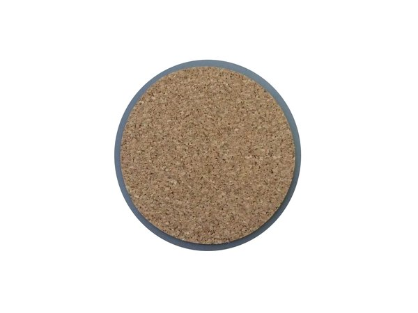 Adhesive Coaster Cork Sheet - 90mm Dia - 1mm Thick - 100 Sheets