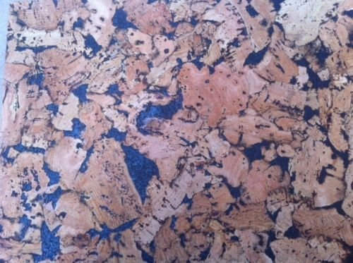 Black Pattern Cork Wall Tiles - 300mm x 300mm - 3mm thick - Pack of 6