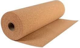 Large Cork Roll - 5 Meter x 1 Meter x 10 mm Thick