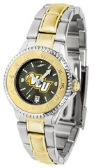 VCU Ladies' Two-Tone Stainless Steel Competitor AnoChrome
