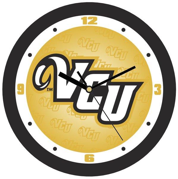 VCU Dimension Wall Clock - Yellow