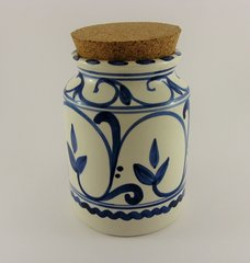 Hand Painted Kitchen Storage Jar (Retro)